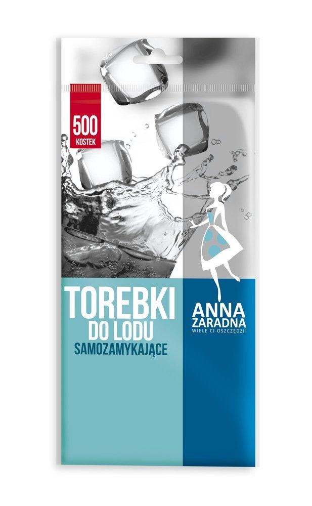 Woreczki do lodu samozamykające 500 kostek ANNA ZARADNA