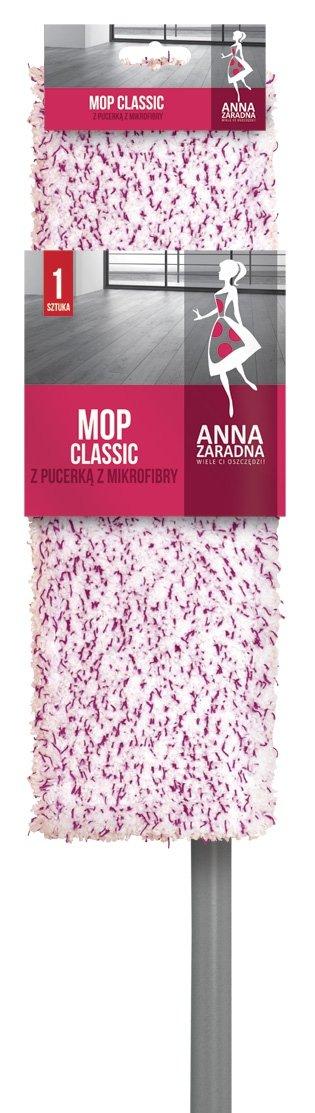 Mop classic z pucerką mikrofibry ANNA ZARADNA