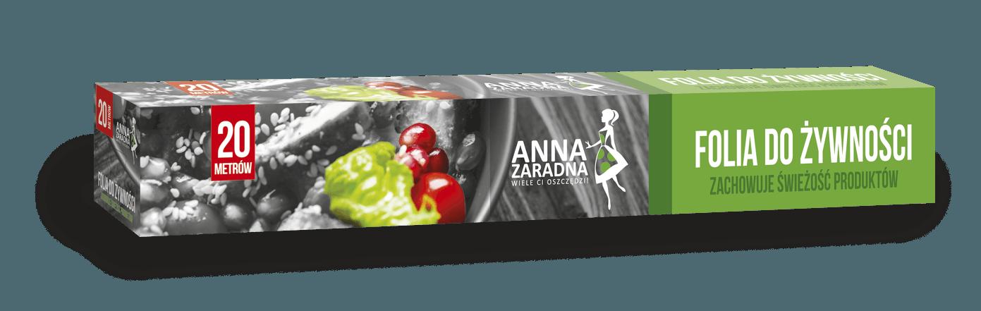 Folia do żywności 20m box ANNA ZARADNA