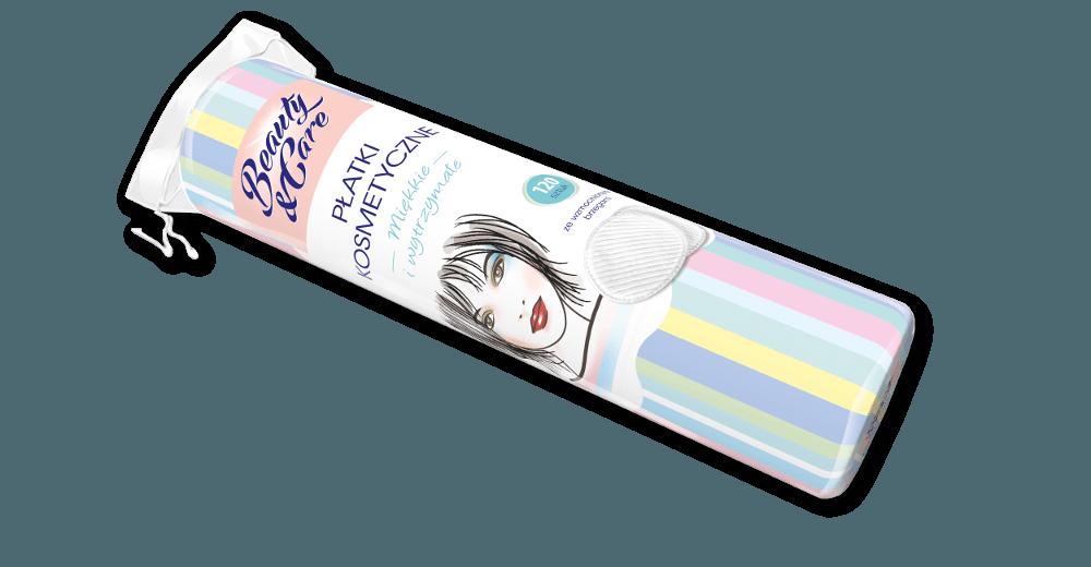Płatki kosmetyczne 120szt. (VAT 8%) Beauty&Care