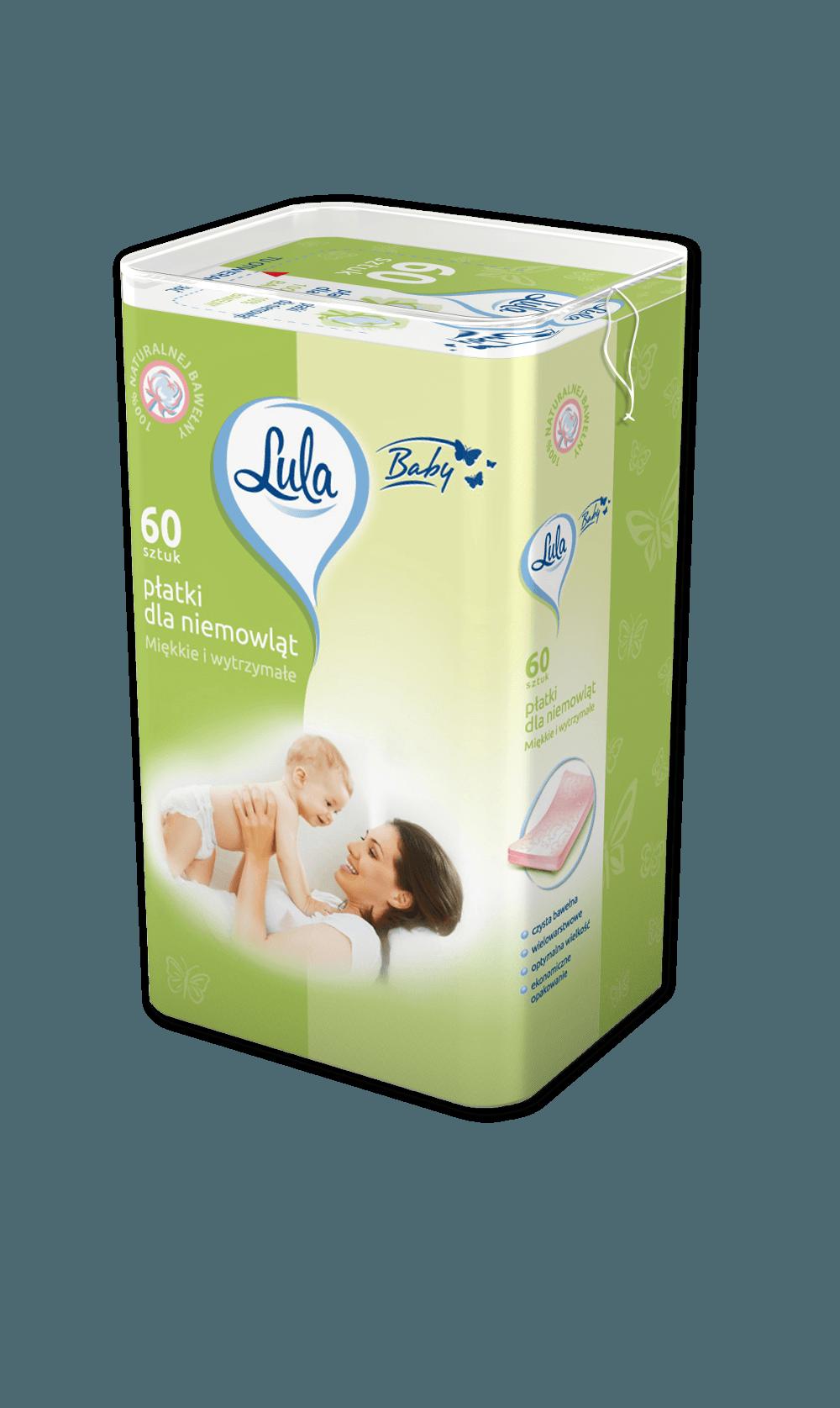 Płatki dla niemowląt 60 szt. (VAT 8%) LULA BABY
