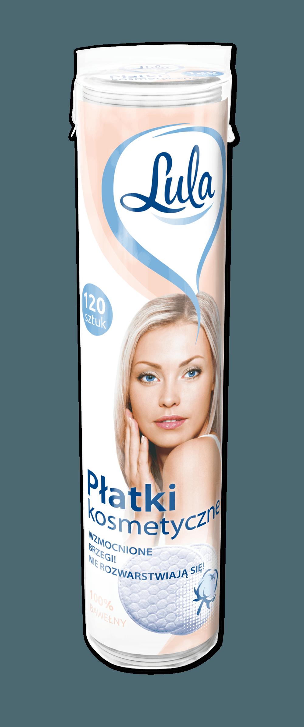 Płatki kosmetyczne 120szt. (VAT 8%) LULA