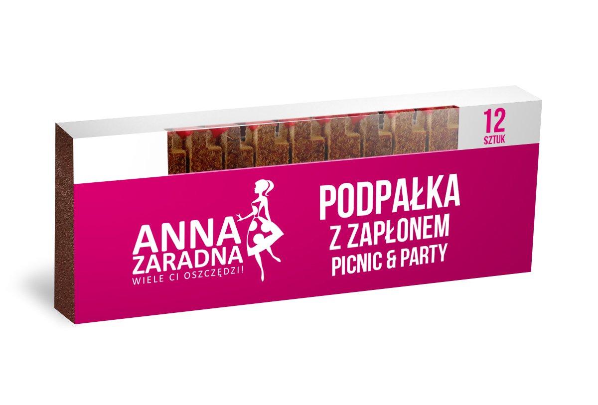 Podpałka z zapłonem 12szt Anna Zaradna