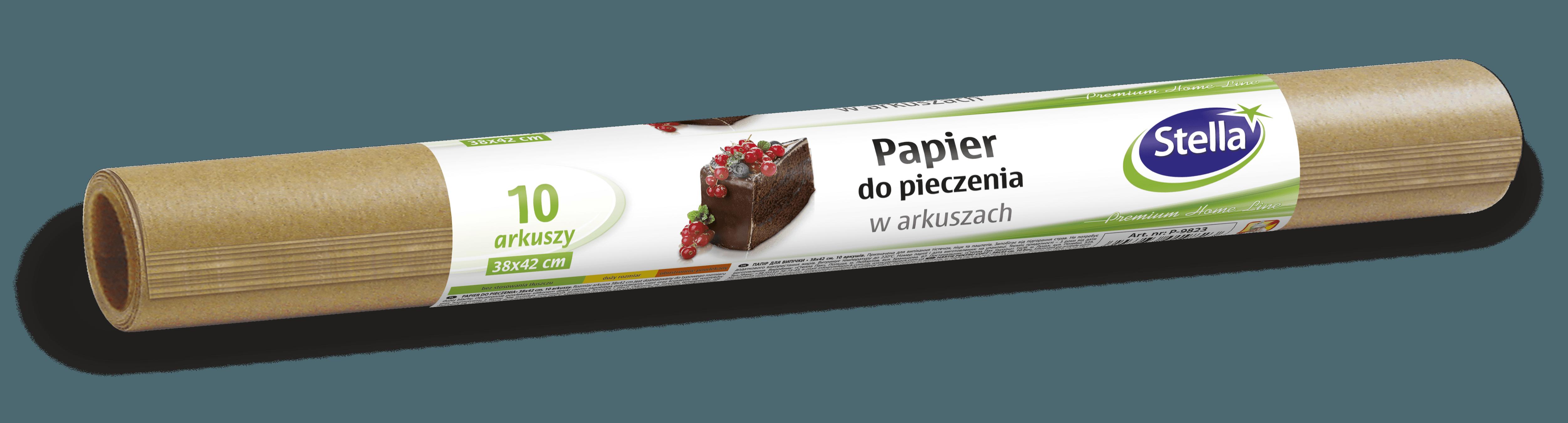 Papier do pieczenia w arkuszach 10szt. STELLA
