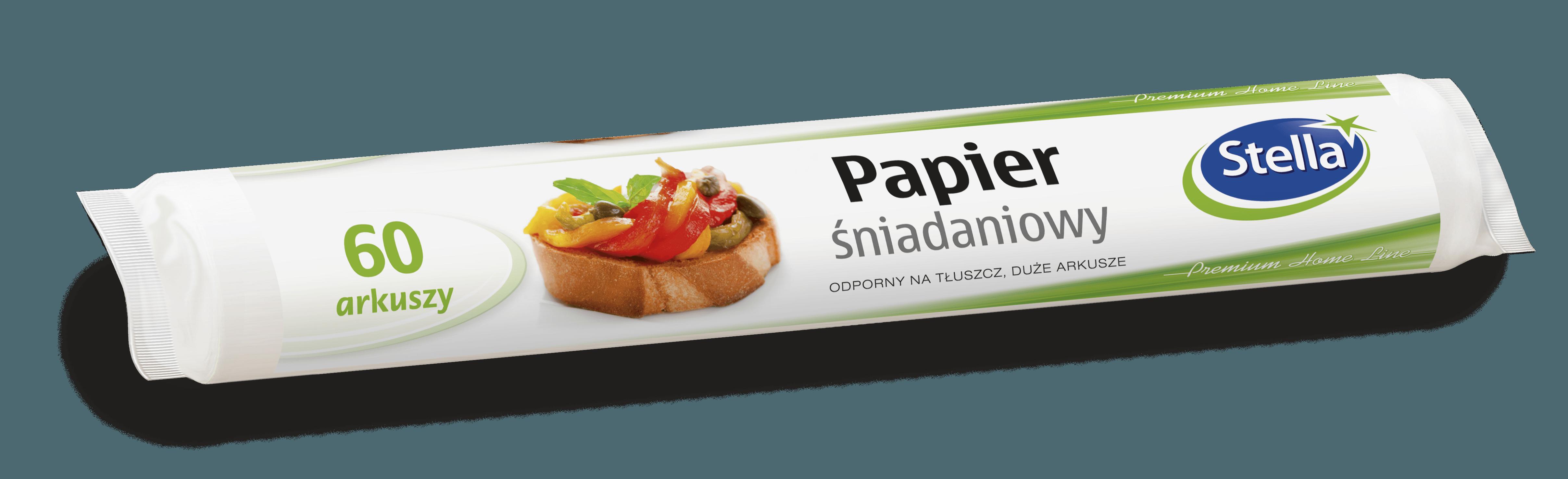 Papier śniadaniowy 60szt. rolka STELLA