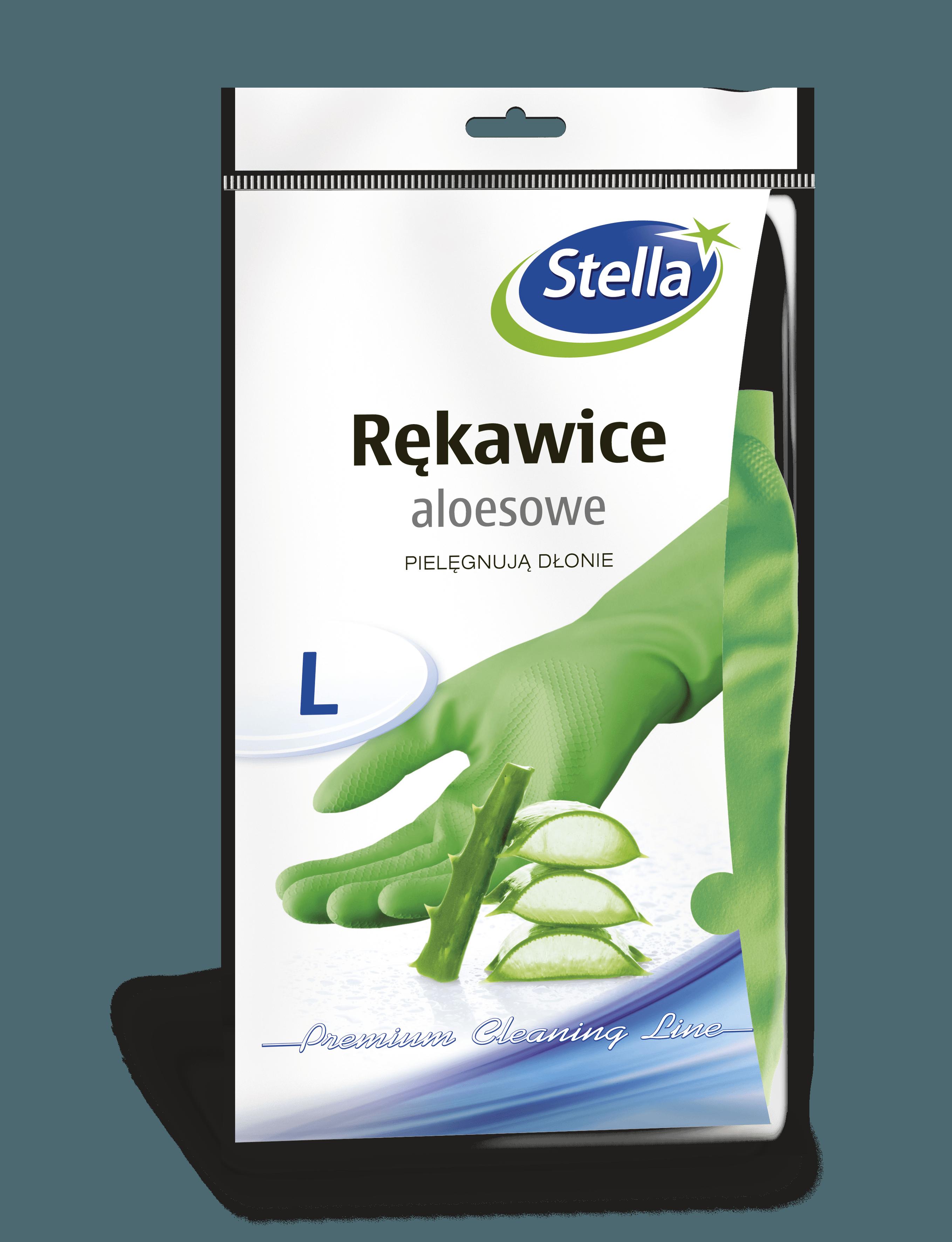 Rękawice aloesowe L STELLA
