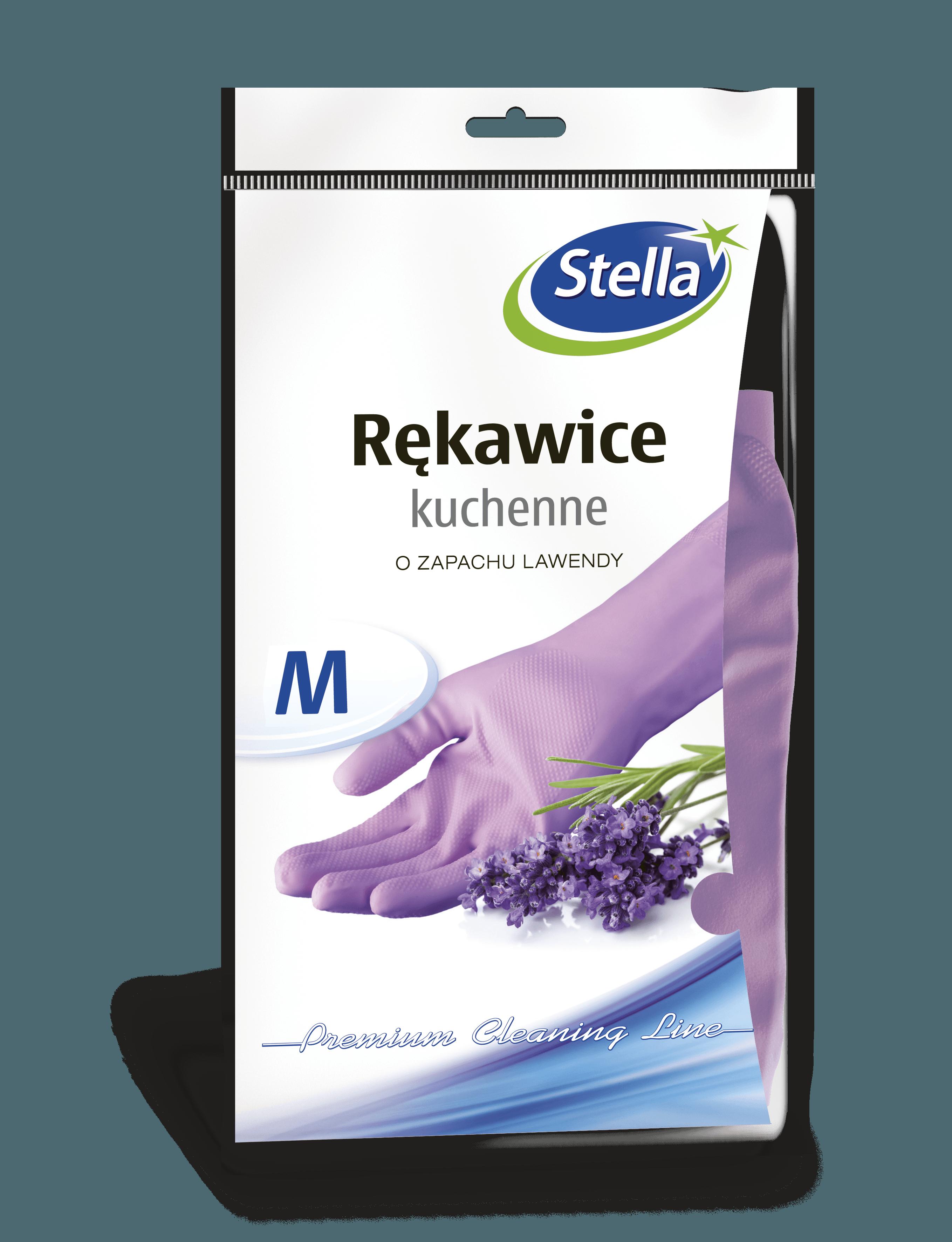 Rękawice kuchenne o zapachu lawendy M STELLA