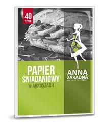 Papier śniadaniowy 40szt. składka ANNA ZARADNA