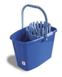 Wiadro 10L z wyciskaczem (niebieskie) ANNA ZARADNA