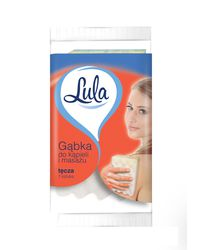 Gąbka do kąpieli i masażu TĘCZA LULA