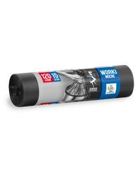 Worki na śmieci MOCNE HD-LD 120L 15szt. czarne ANNA ZARADNA