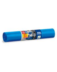 Worki na śmieci SUPERMOCNE LDPE 120L 25szt. niebieskie ANNA ZARADNA