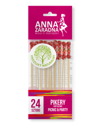 Pikery koktajlowe 24szt Anna Zaradna
