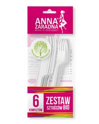 Zestaw sztućców BIO 6 kompletów Anna Zaradna