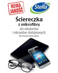 Ściereczka z mikrofibry do okularów i ekranów dotykowych STELLA