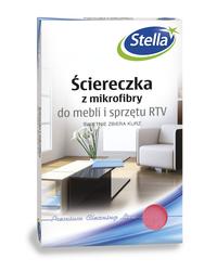 Ściereczka z mikrofibry do mebli i sprzętu RTV STELLA