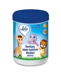 Nawilżany papier toaletowy dla dzieci 50szt LULA