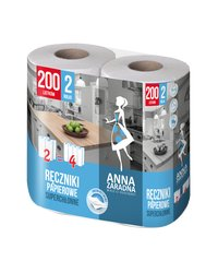 Ręczniki papierowe 100 listków 2 rolki Anna Zaradna