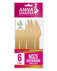 Anna Zaradna Noże drewniane 6szt