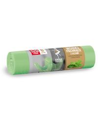 Worki na śmieci z uszami - zapach MIĘTOWY 120L 6szt Anna Zaradna