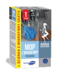 Mop z mikrofibry premium + Ścierka do podłogi z mikrofibry GRATIS! Anna Zaradna