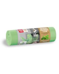 Worki na śmieci z uszami - zapach MIĘTOWY 60L 10szt Anna Zaradna